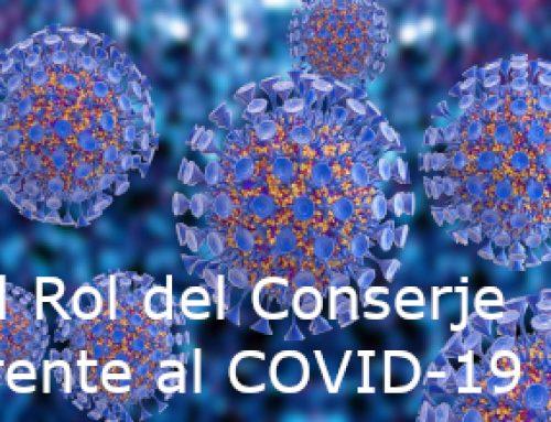 El Rol del Conserje frente al COVID-19
