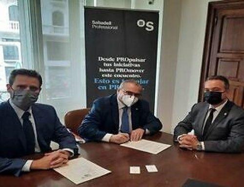 Acuerdo de colaboración con el Banco Sabadell